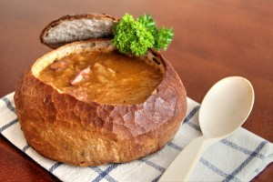 Zelňačka v chlebe